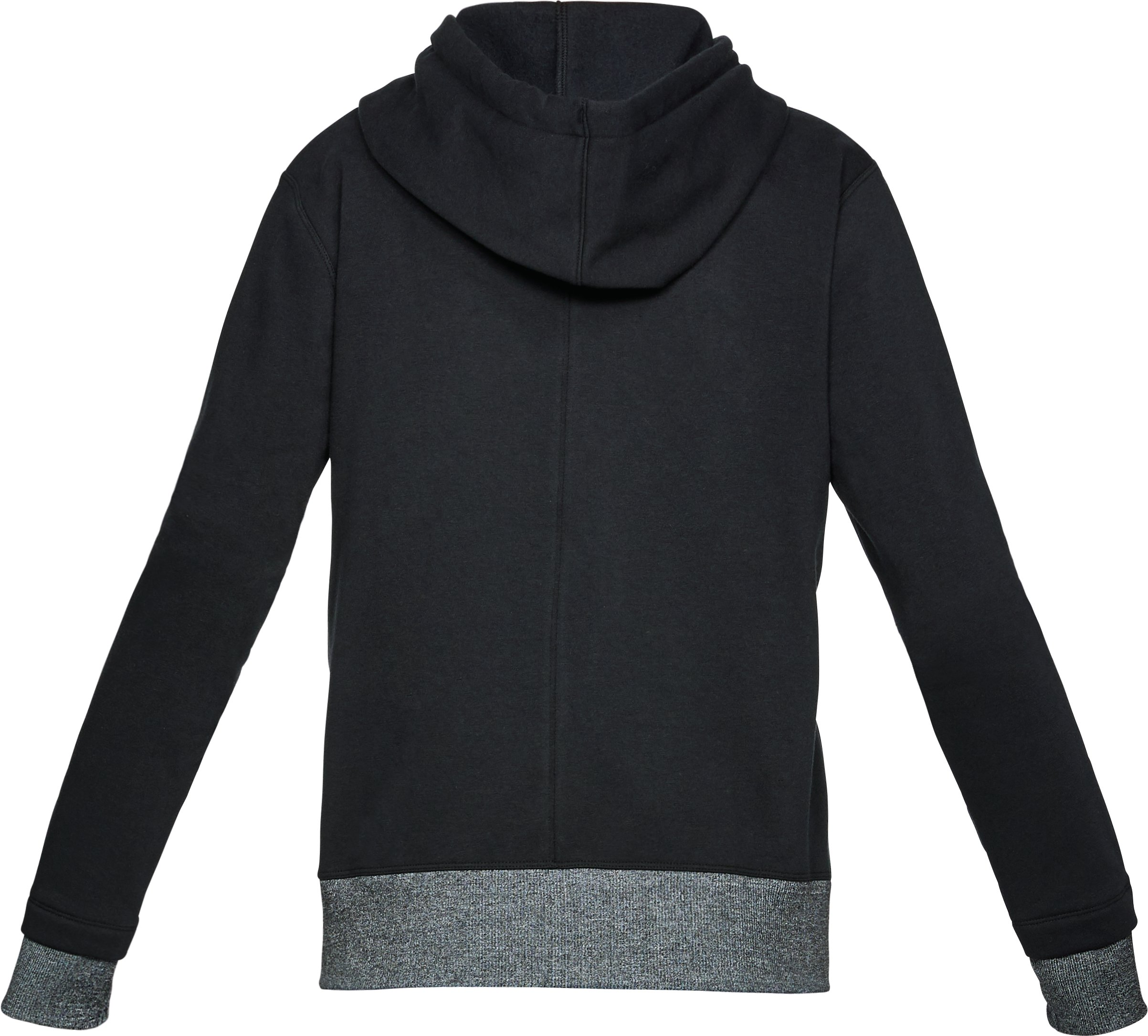 Women's UA Threadborne™ Fleece Hoodie, Black ,