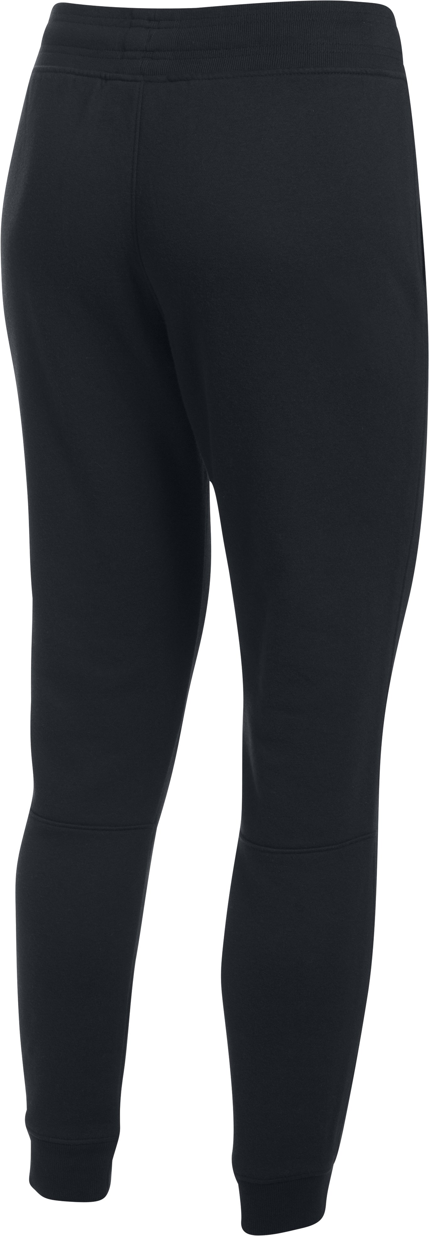 Women's UA Favorite Fleece Pant, Black , undefined