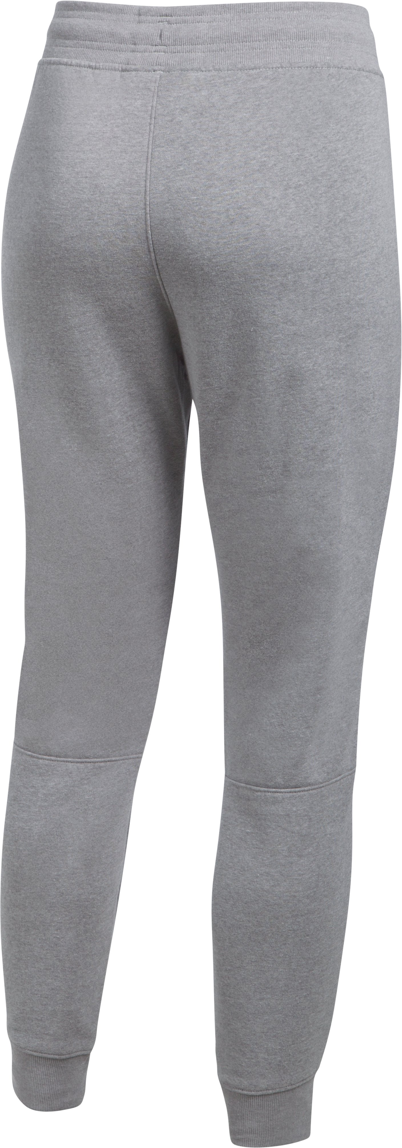 Women's UA Favorite Fleece Pant, True Gray Heather,
