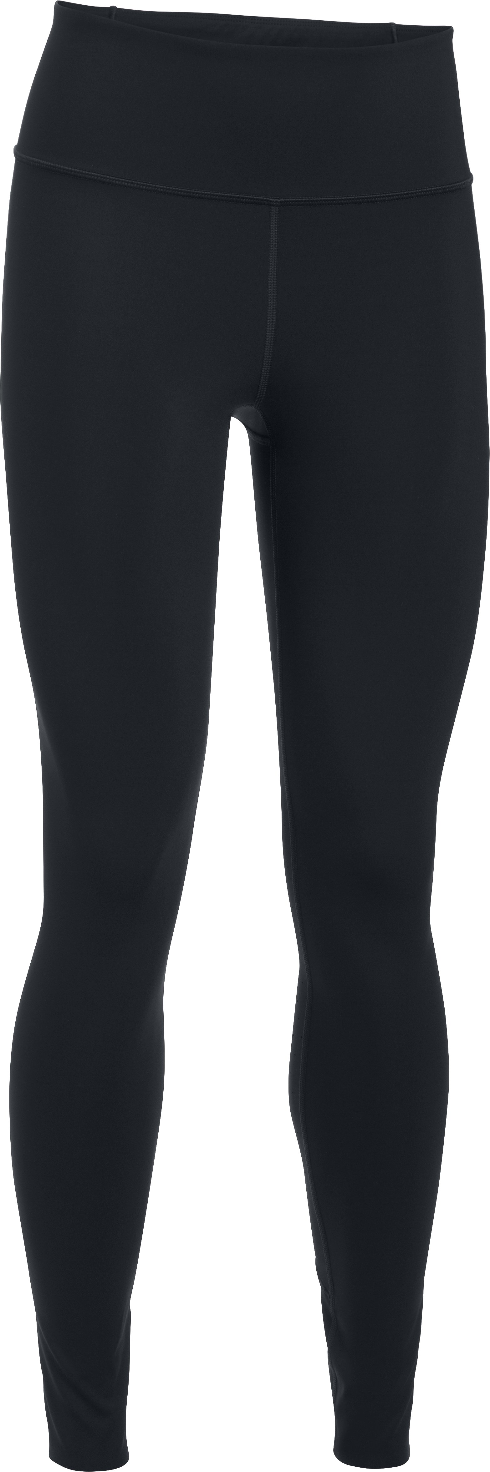 Women's UA Mirror BreatheLux Hi-Rise Leggings, Black , undefined