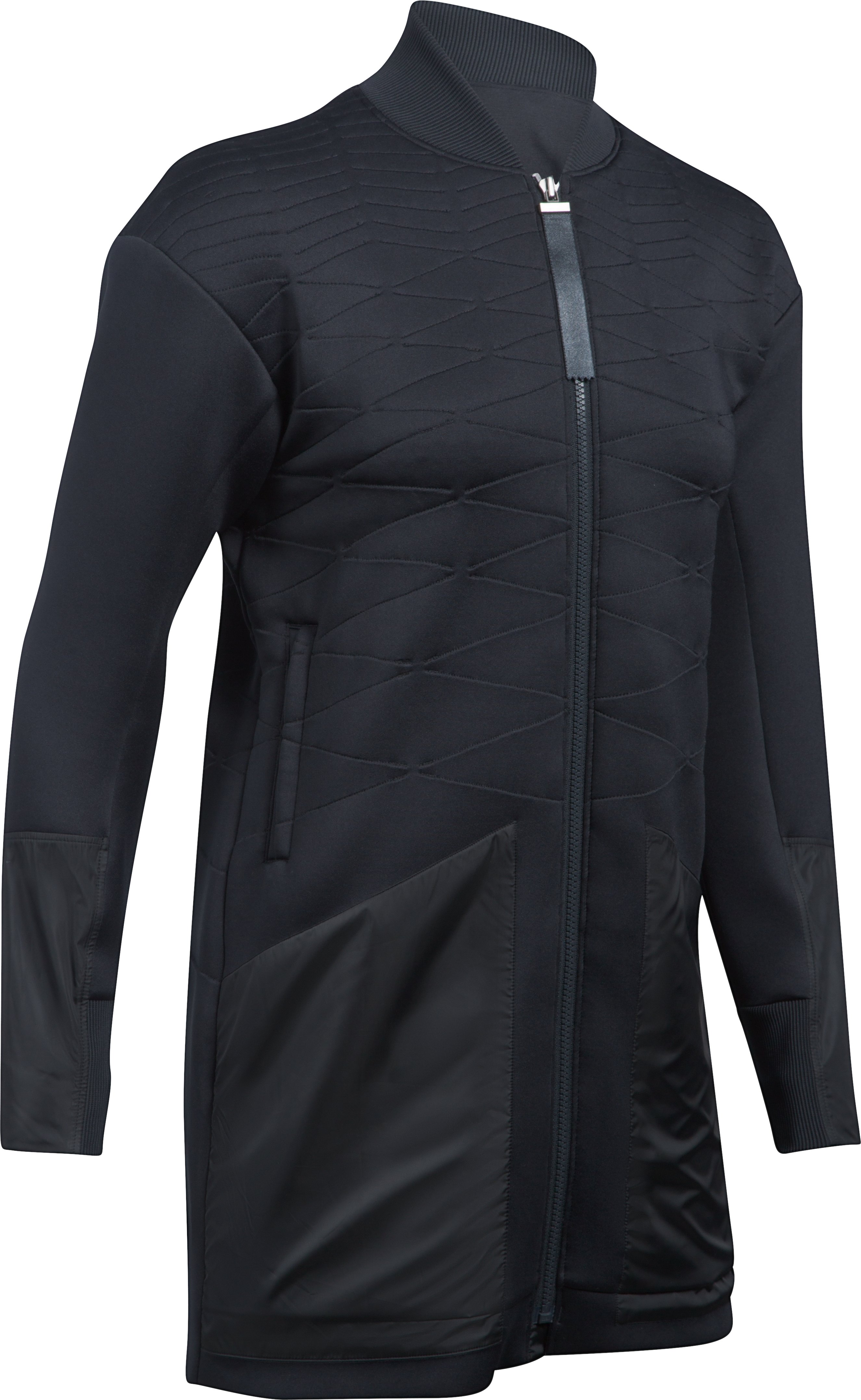 Women's UA Luster Jacket, Black , undefined
