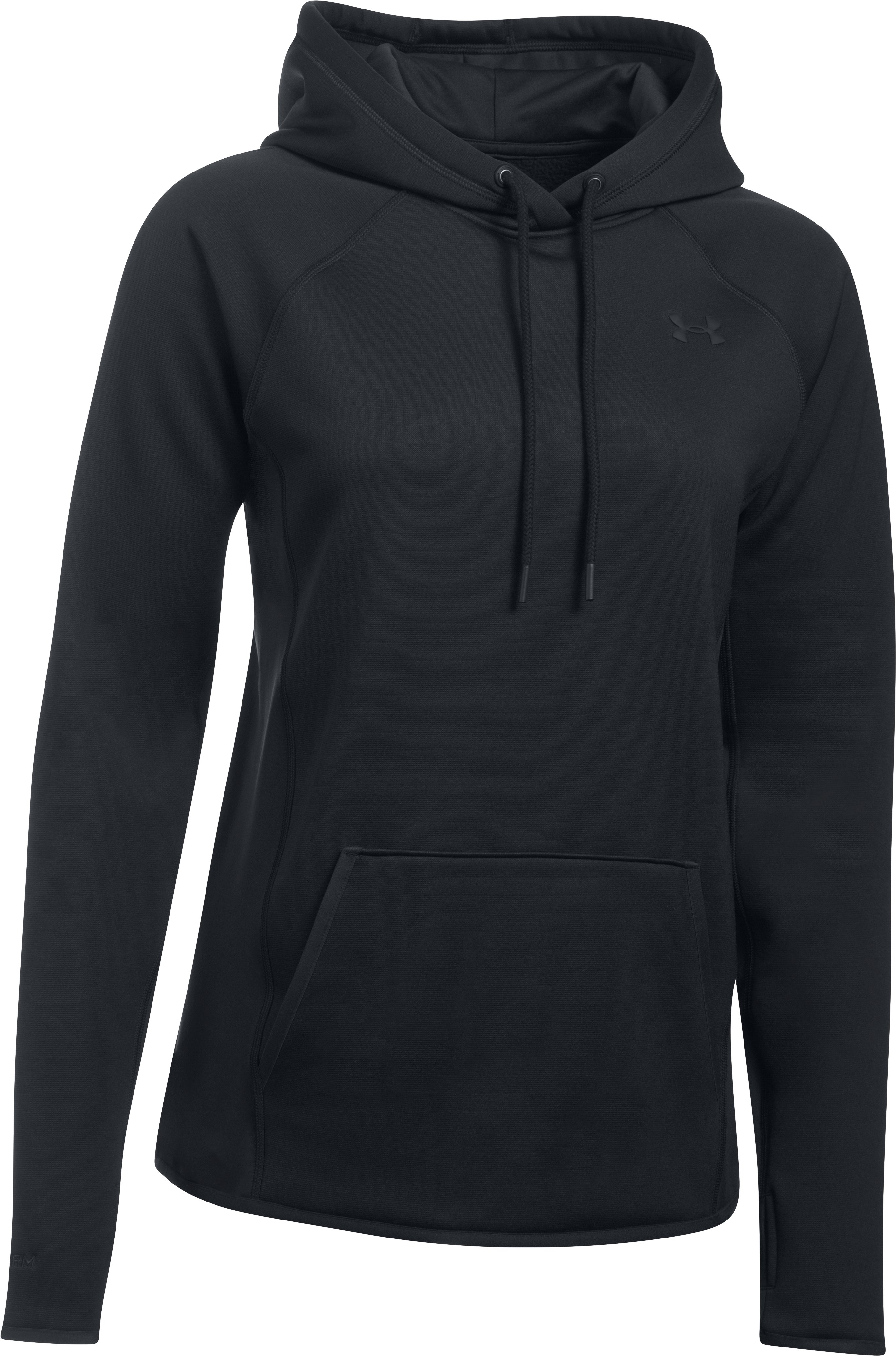 Women's  UA Storm Armour Fleece® Hoodie, Black ,