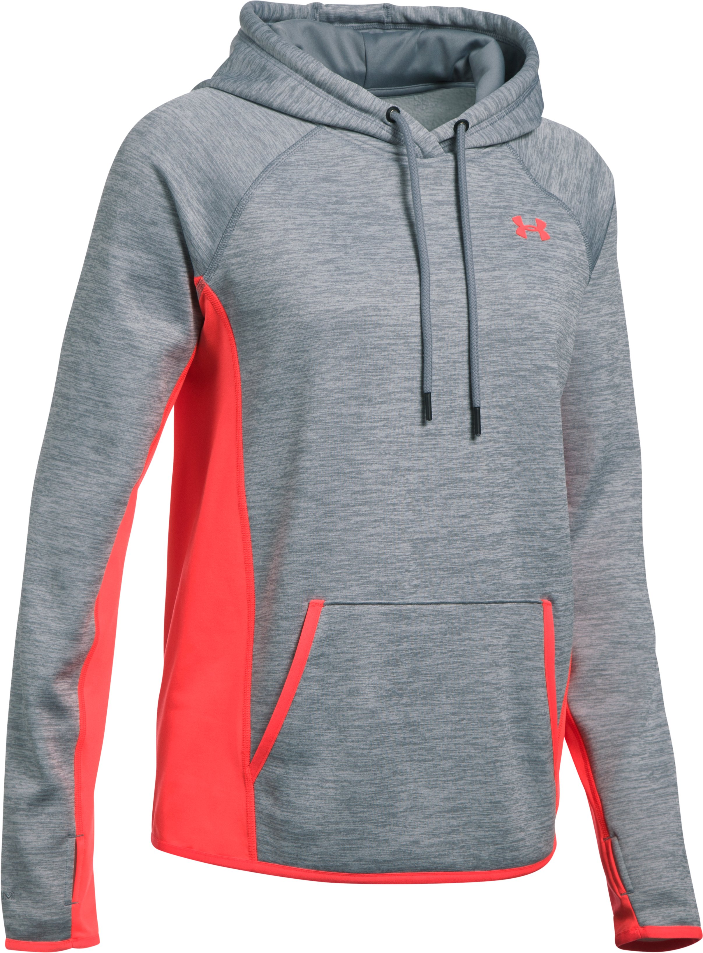 Women's  UA Storm Armour Fleece® Hoodie, Steel, undefined