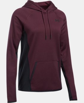 Women's UA Storm Armour® Fleece Twist Hoodie LIMITED TIME OFFER 1 Color $50.99