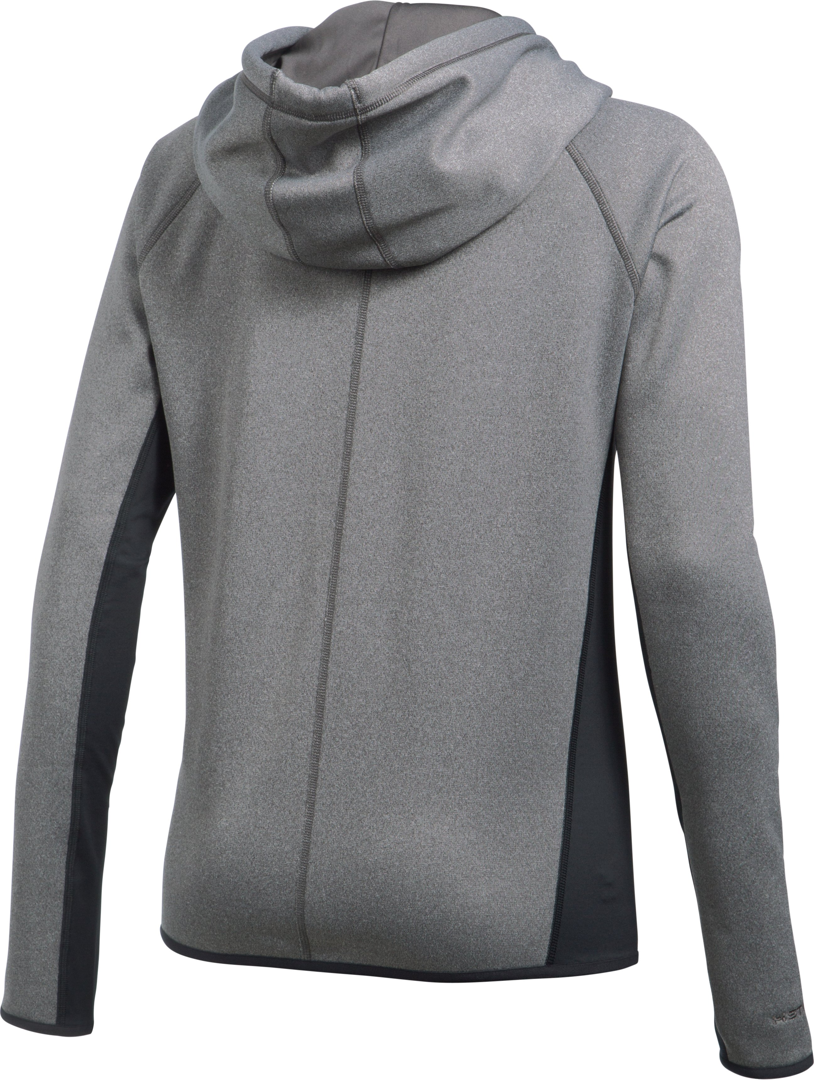 Women's UA Storm Armour® Fleece Full Zip Hoodie, Carbon Heather, undefined