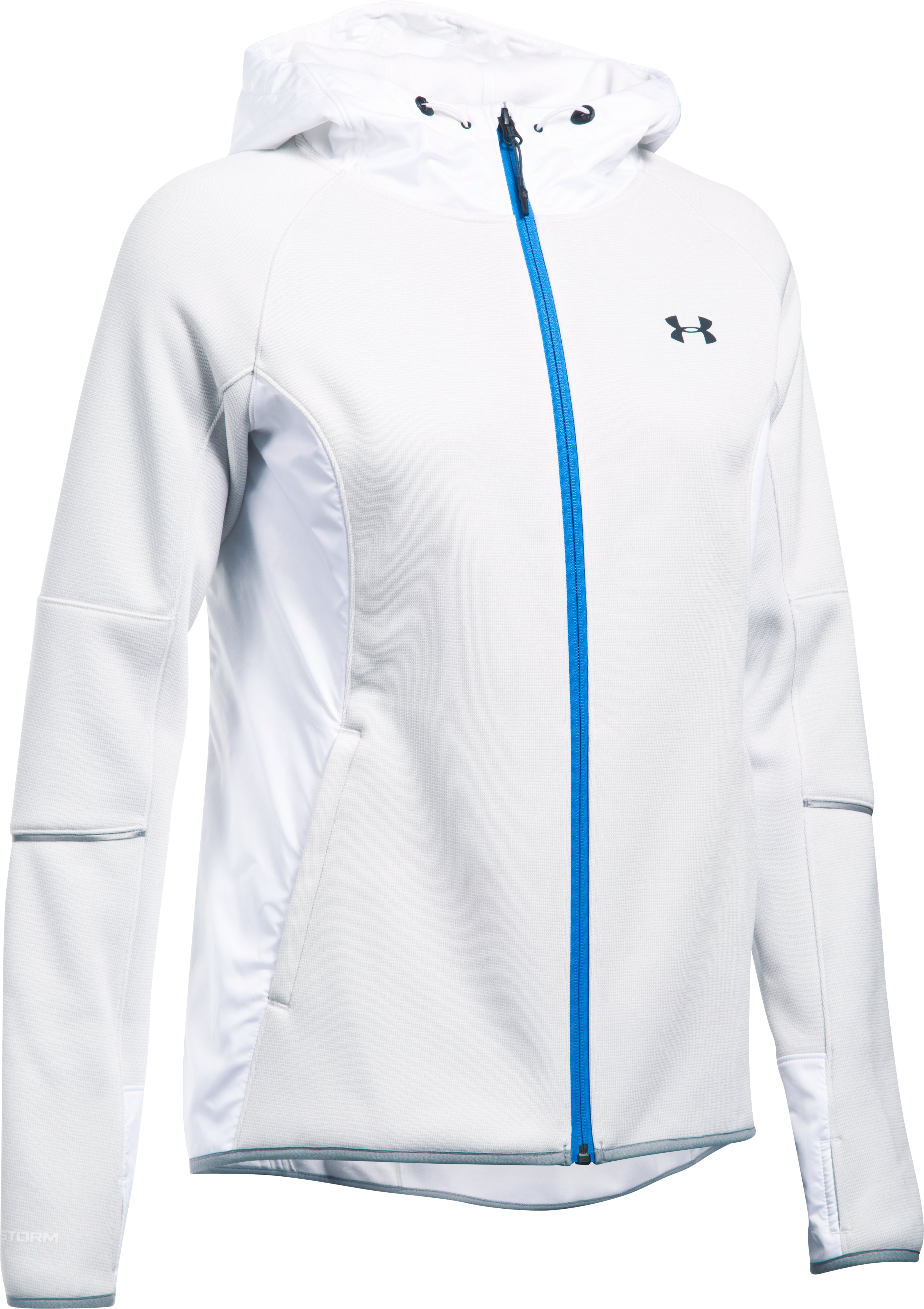 Women's UA Swacket, White,