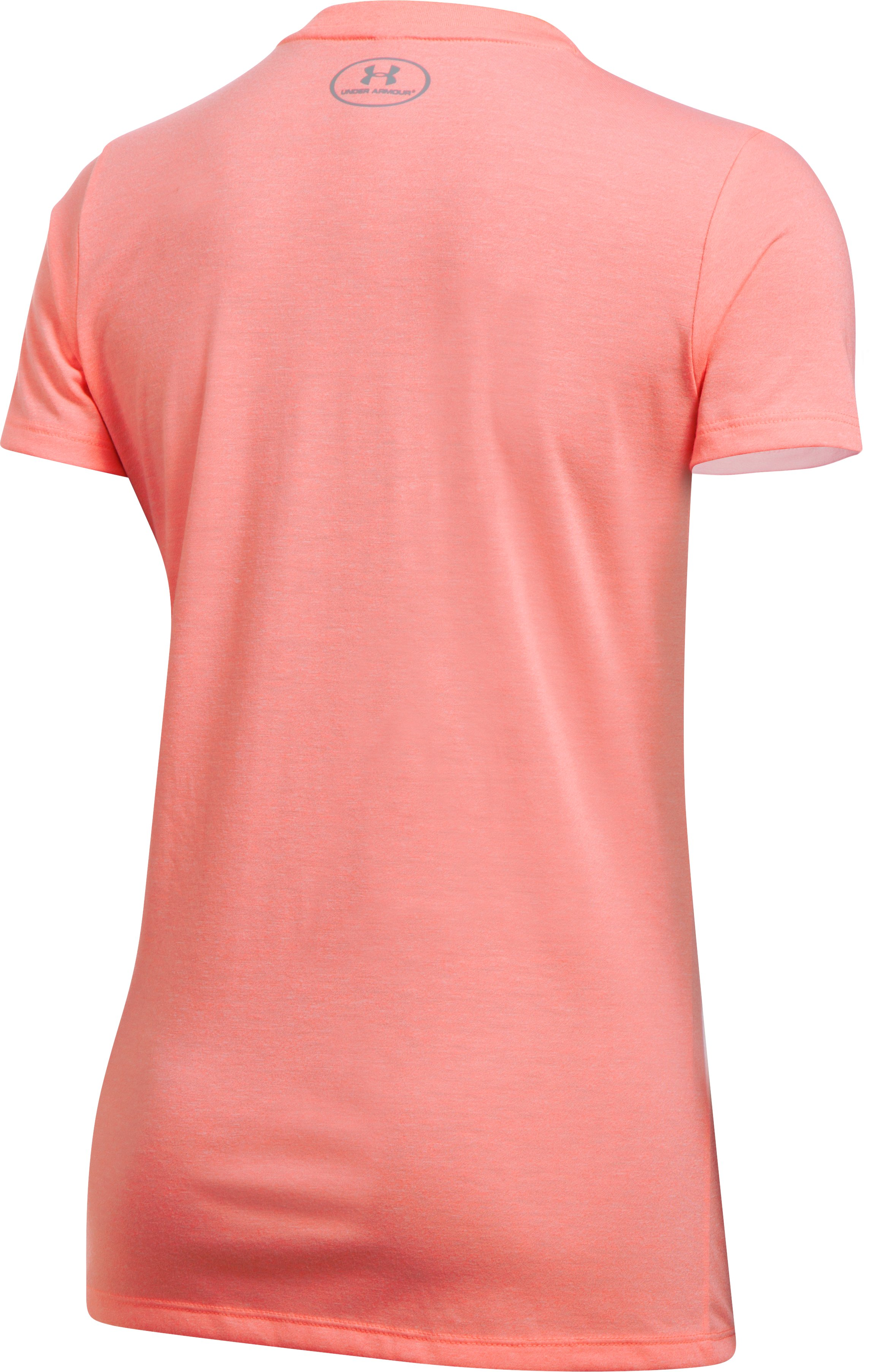 Women's UA Threadborne™ Twist Graphic V-Neck, CAPE CORAL,
