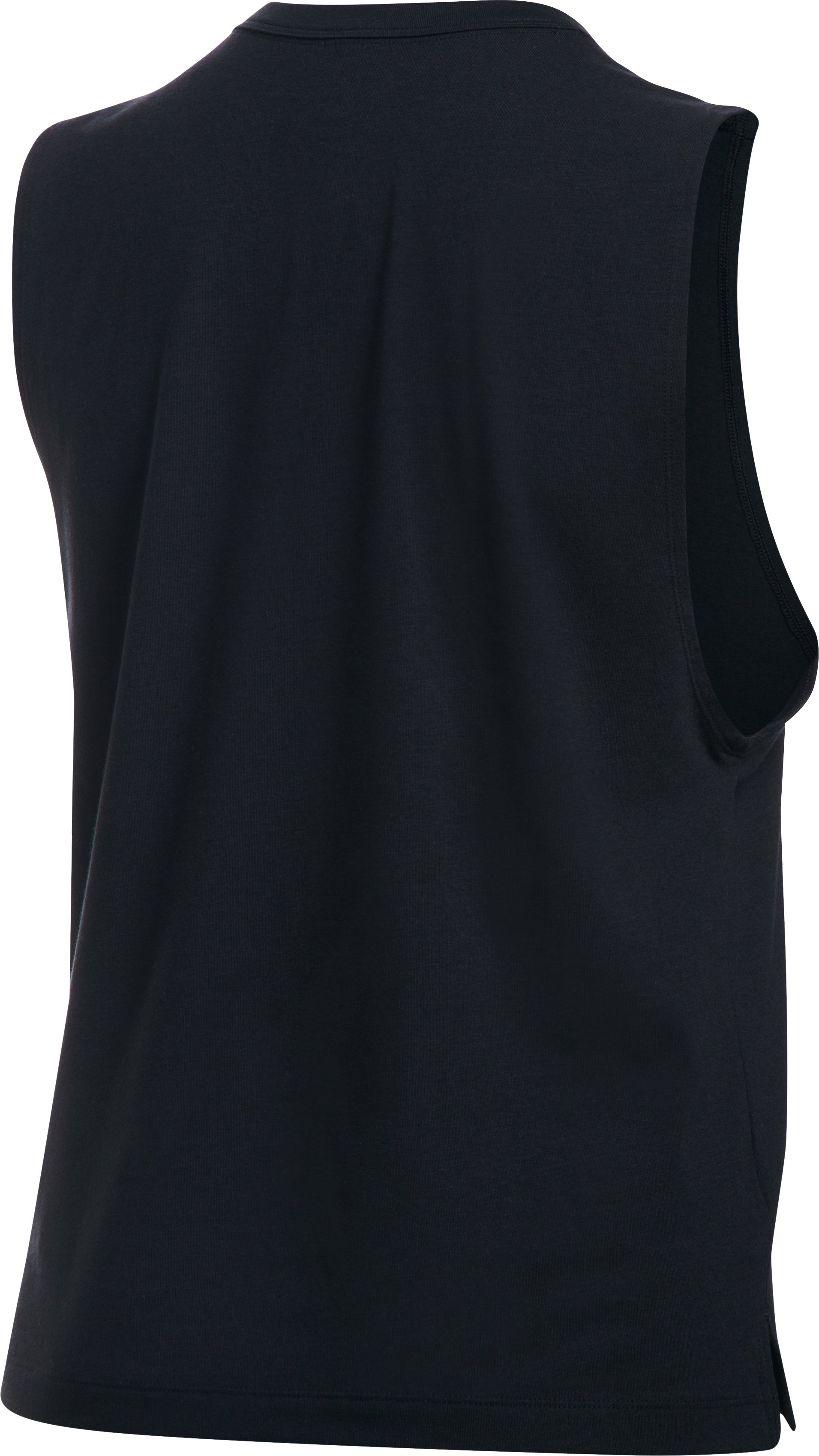 Women's UA Girl Boss Muscle Tank, Black ,