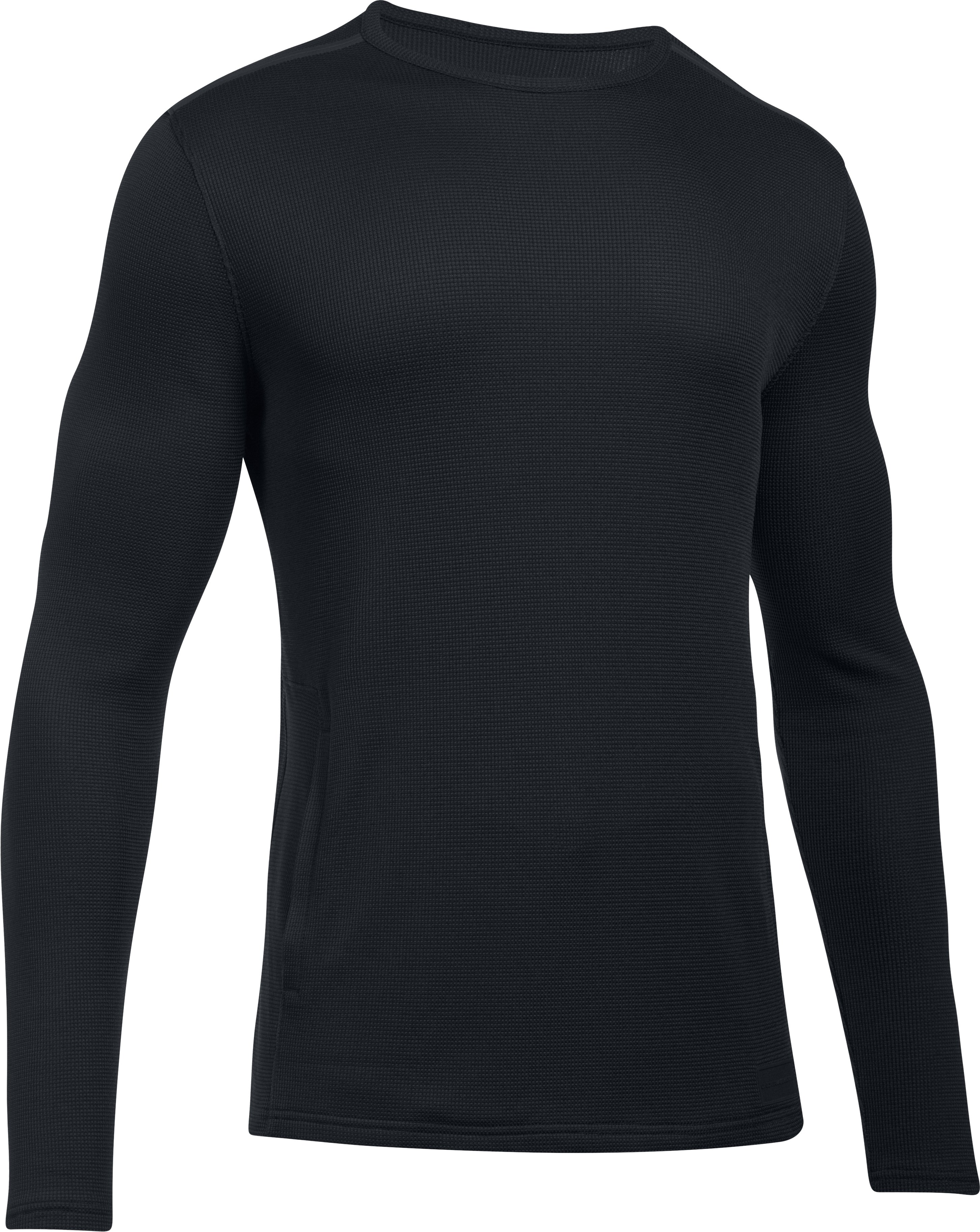 Men's UA Pursuit Stealth Thermal, Black