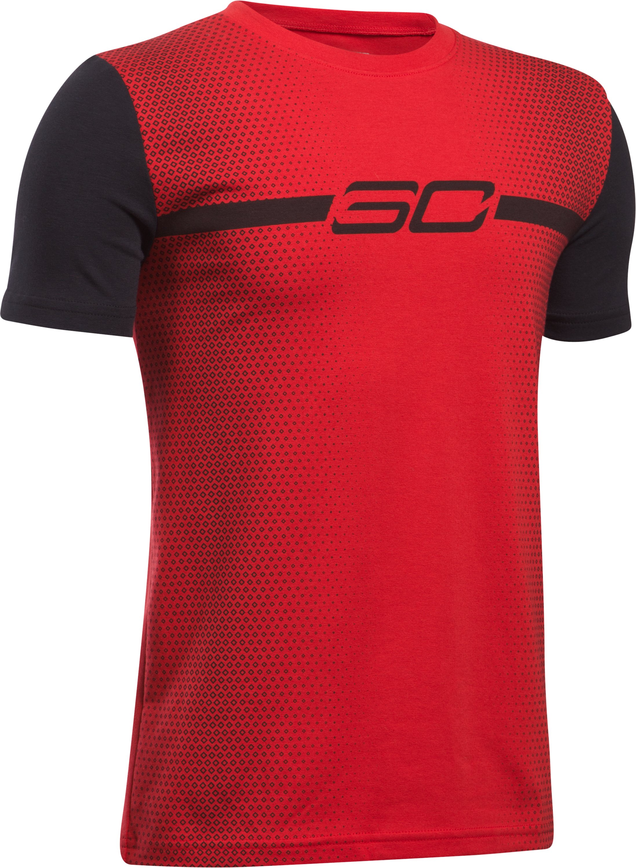 Boys' SC30 Faded T-Shirt, Red