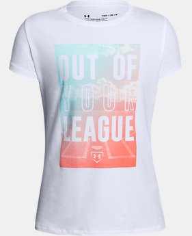 Girls' UA Out Of Your League T-Shirt  1 Color $19.99