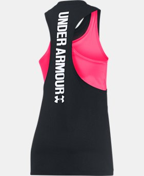 Girls' UA 2-in-1 Tank  3 Colors $29.99