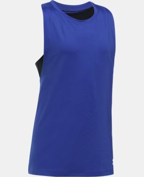 Girls' UA 2-in-1 Tank  4 Colors $29.99