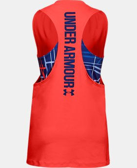 Girls' UA 2-in-1 Tank  2  Colors Available $29.99