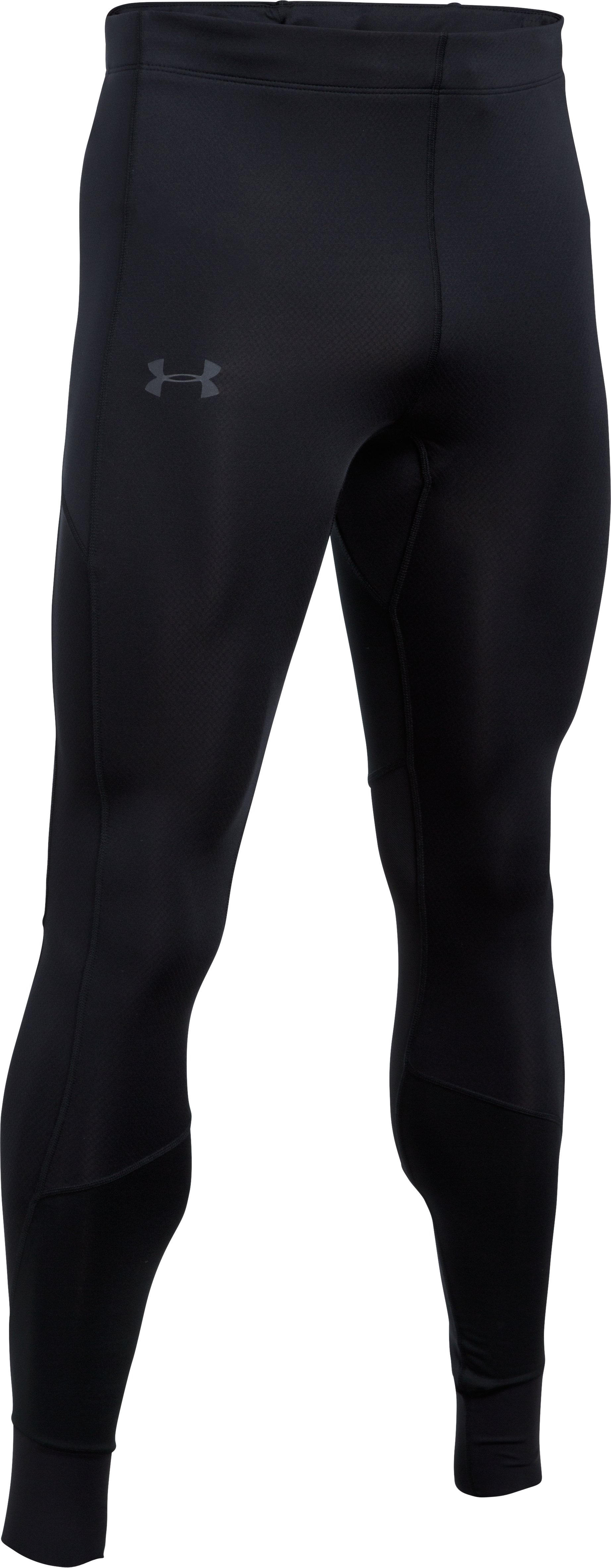 Men's ColdGear® Reactor Run Leggings, Black ,