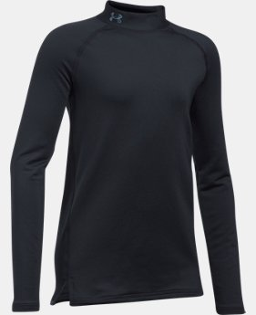 Girls' ColdGear® Mock Neck  1 Color $44.99