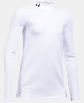 Girls' ColdGear® Mock Neck  2  Colors Available $39.99