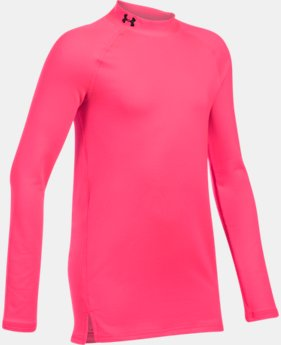 New Arrival  Girls' ColdGear® Mock Neck  1 Color $44.99