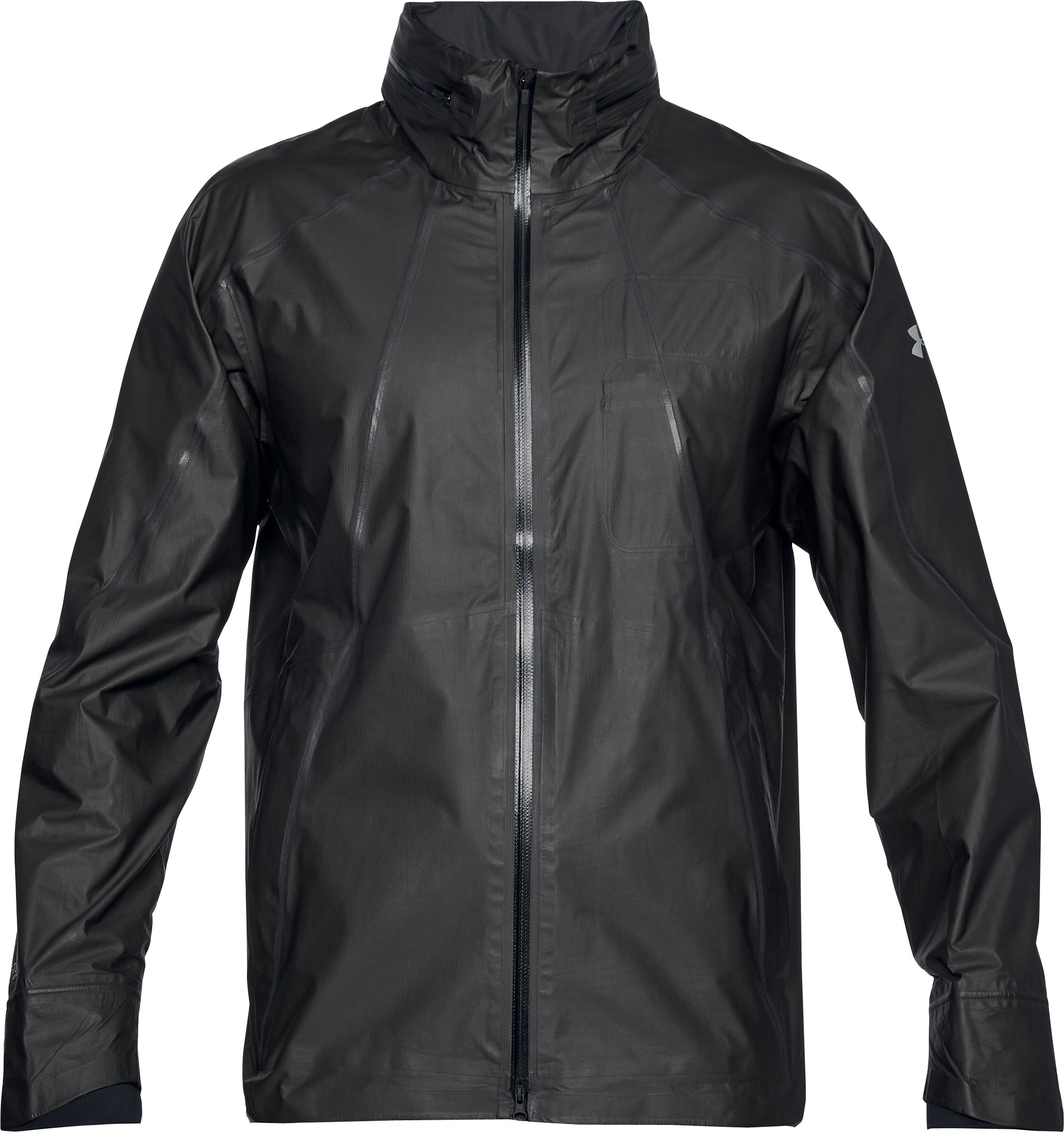 Men's UA Storm Accelerate GORE-TEX® Long Jacket, Black ,