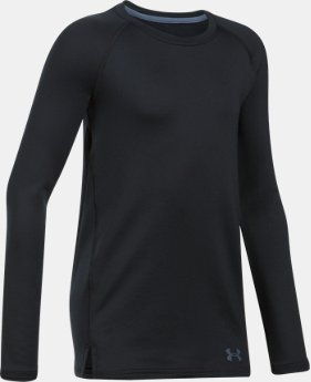 New Arrival  Girls' ColdGear® Crew Neck  2 Colors $44.99