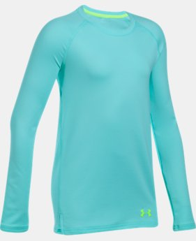 Girls' ColdGear® Crew Neck  1 Color $29.99