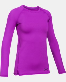 Girls' ColdGear® Crew Neck  1  Color Available $29.99