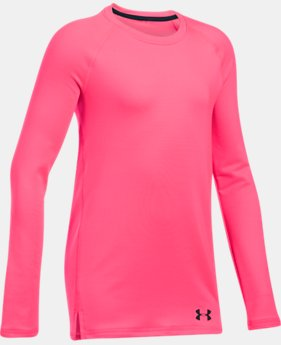 Girls' ColdGear® Crew Neck  3 Colors $39.99