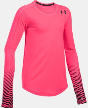 Girls' ColdGear® Reactor Crew  1 Color $37.49