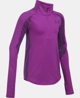 Girls' ColdGear® Reactor ½ Zip  3 Colors $44.99