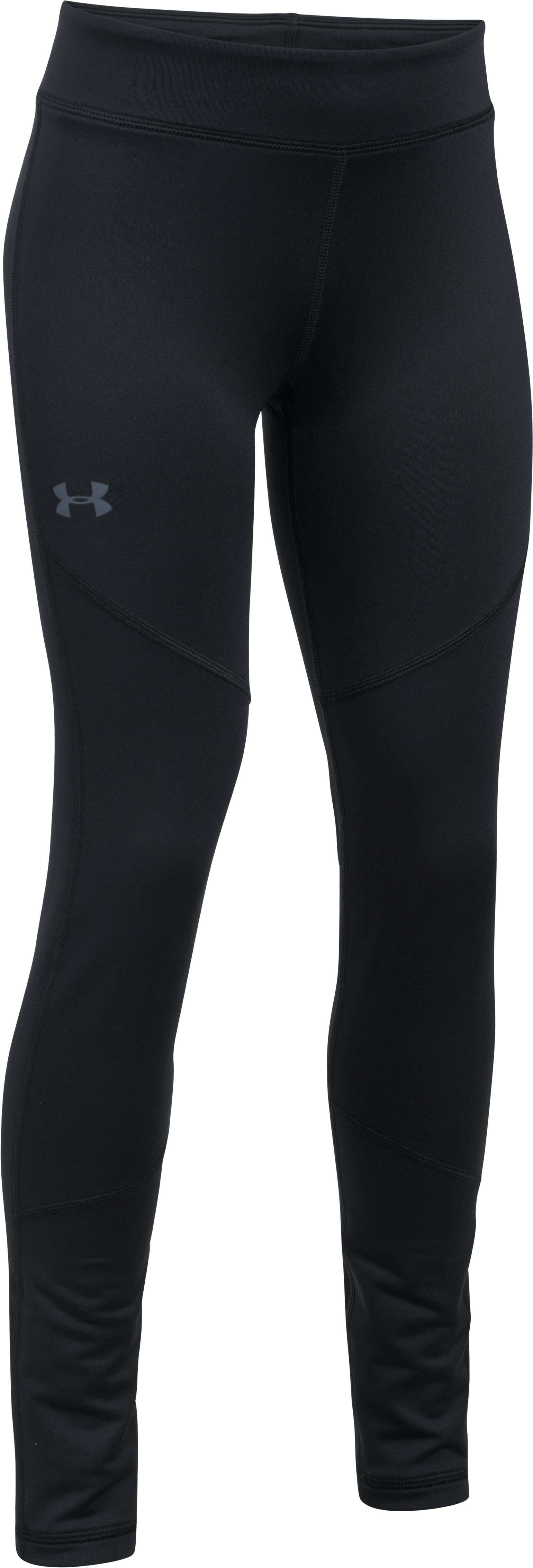 Girls' ColdGear® Leggings, Black