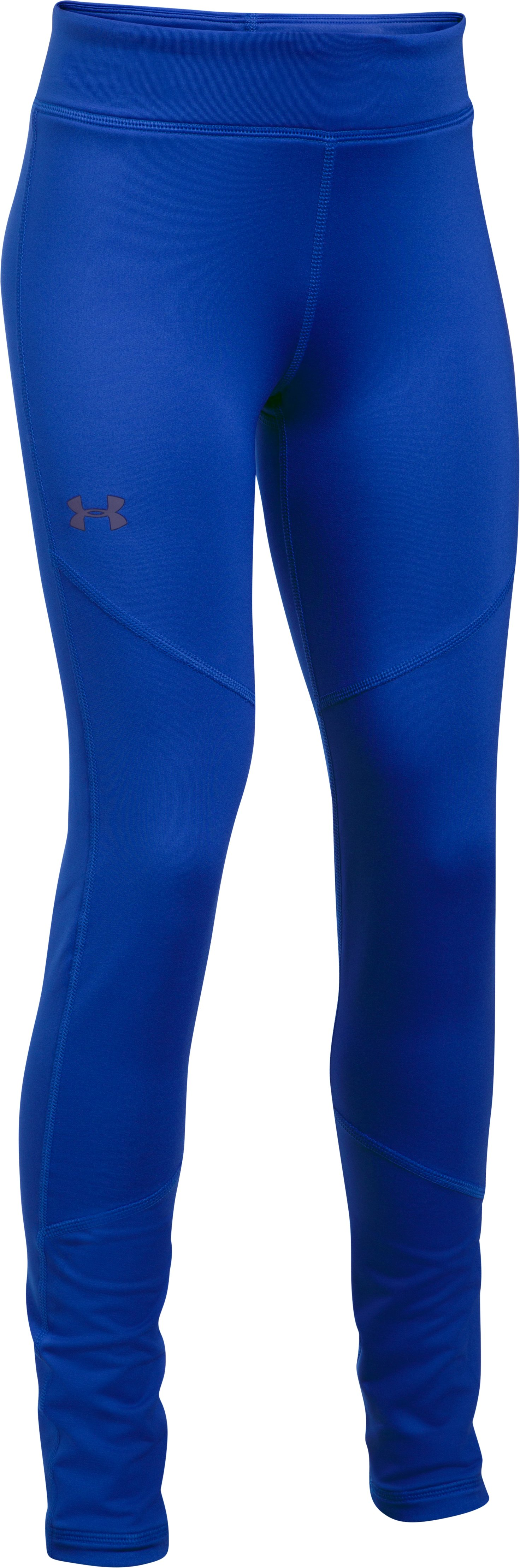 Girls' ColdGear® Leggings, LAPIS BLUE,
