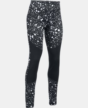 Girls' ColdGear® Printed Leggings  1 Color $49.99