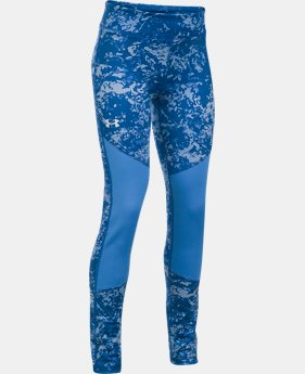 Girls' ColdGear® Printed Leggings  3  Colors Available $26.99 to $33.74