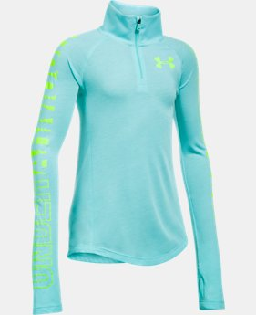Girls' Threadborne™ ¼ Zip  2 Colors $39.99