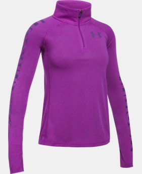 Girls' Threadborne™ ¼ Zip  1  Color Available $20.99 to $26.99
