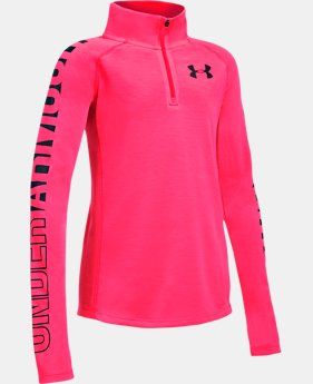 Girls' Threadborne™ ¼ Zip  3 Colors $34.99