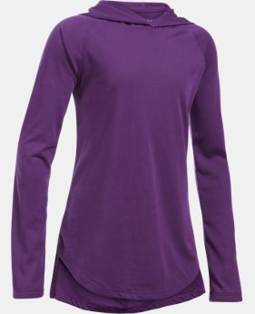 Girls' Threadborne™ Long Sleeve Hoodie  3 Colors $39.99