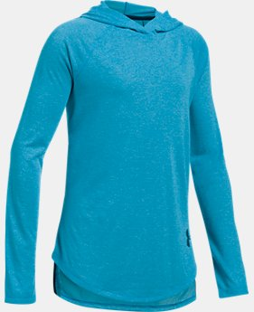 Girls' Threadborne™ Long Sleeve Hoodie  1  Color Available $29.99