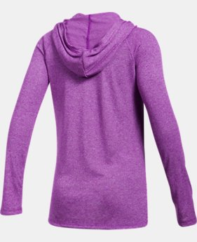 New to Outlet Girls' Threadborne™ Long Sleeve Hoodie LIMITED TIME OFFER 6 Colors $24.49