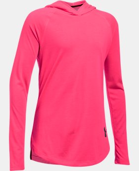Girls' Threadborne™ Long Sleeve Hoodie  1 Color $39.99
