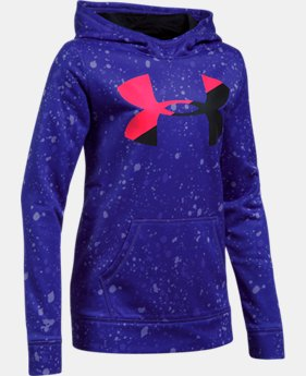 Girls' Armour Fleece® Big Logo Printed Hoodie  2 Colors $41.99 to $44.99
