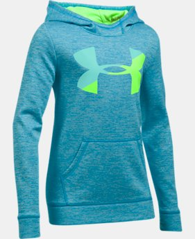 Girls' Armour Fleece® Big Logo Printed Hoodie  6 Colors $33.74 to $44.99