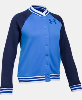 Girls' Armour Fleece® Graphic Bomber  2 Colors $59.99
