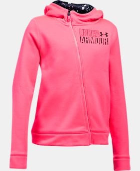 Girls' Armour Fleece® Full Zip Hoodie  1 Color $38.49
