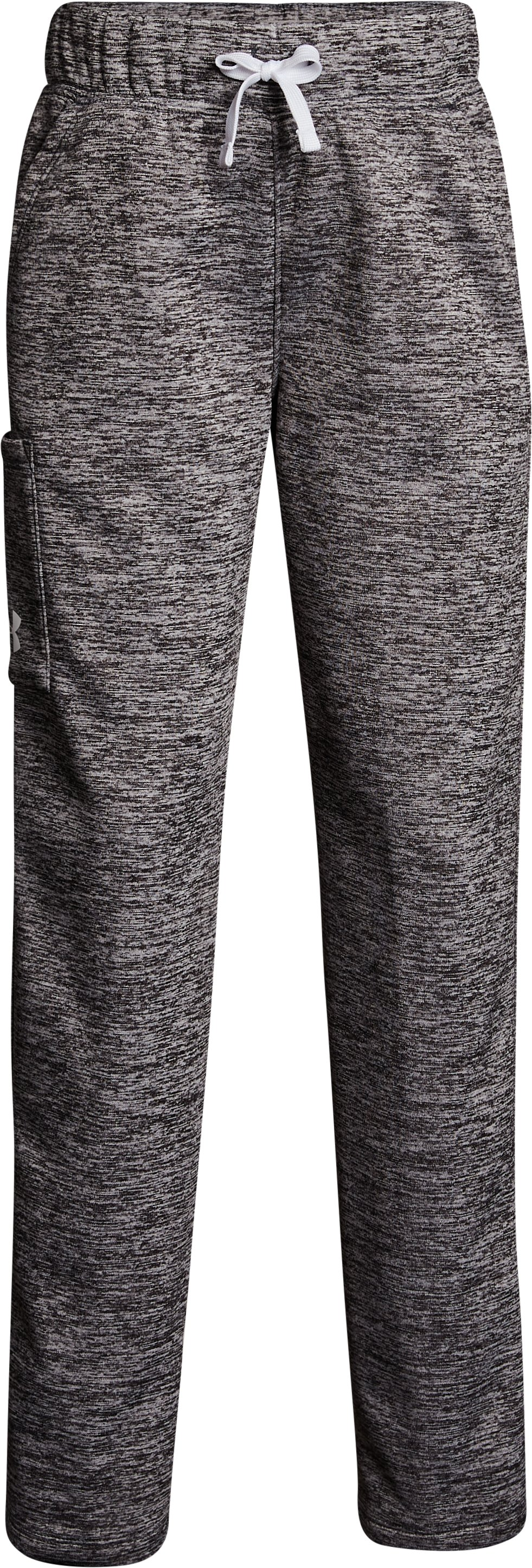 Girls' Armour Fleece® Pants, STEALTH GRAY