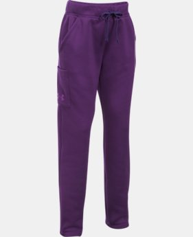 Girls' UA Armour® Fleece Pants LIMITED TIME OFFER 4 Colors $29.99