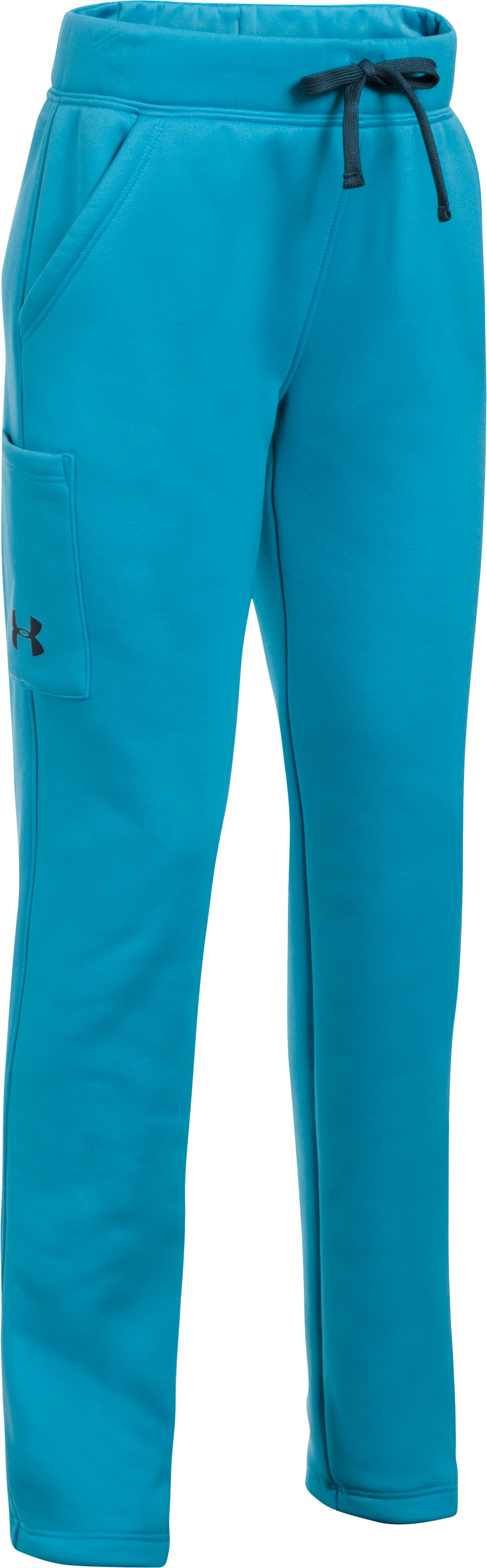 Girls' Armour Fleece® Pants, BLUE SHIFT,