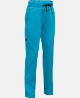 New to Outlet Girls' UA Armour® Fleece Pants LIMITED TIME OFFER 1 Color $29.99