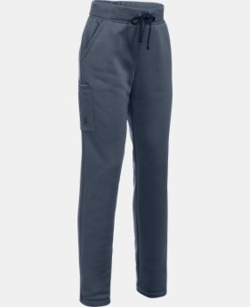 Girls' UA Armour® Fleece Pants  3 Colors $44.99