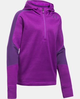 Girls' ColdGear® Reactor Fleece ½ Zip Hoodie  1 Color $74.99